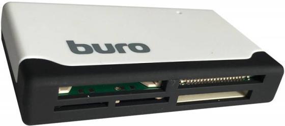 Картридер внешний Buro BU-CR-2102 USB2.0 белый картридер buro bu cr 151 черный bu cr 151