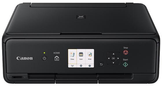 МФУ Canon Pixma TS5040 цветное A4 12/9ppm 4800x1200 Wi-Fi USB черный 1367C007