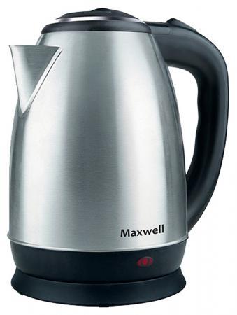 Чайник Maxwell MW-1078(ST) 1800 Вт серебристый чёрный 1.8 л нержавеющая сталь kate spade new york сумка на руку