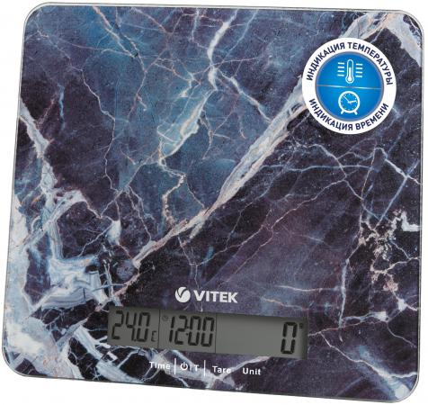 Весы кухонные Vitek VT-8022 BK разноцветный весы кухонные vitek vt 8022 bk разноцветный