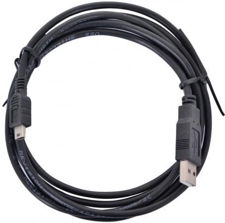 Кабель miniUSB 1м TV-COM круглый USB110G-1M кабель microusb 1 8м tv com круглый usb120g 1 8m