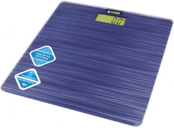 Весы напольные Vitek VT-8062 B синий напольные весы vitek vt 8073 b