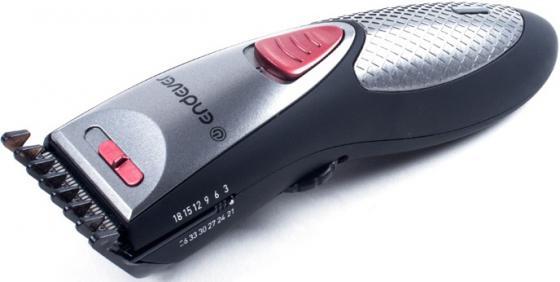 Машинка для стрижки волос ENDEVER Sven 980 чёрный серебристый пылесосы endever пылесос