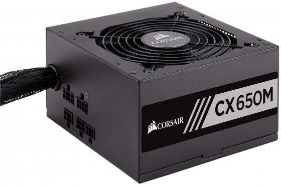 Фото - Блок питания ATX 650 Вт Corsair CX650M CP-9020103-EU блок питания accord atx 1000w gold acc 1000w 80g 80 gold 24 8 4 4pin apfc 140mm fan 7xsata rtl