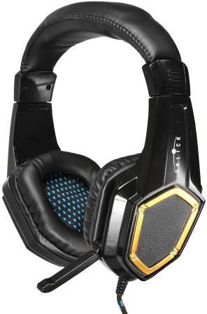 цена на Гарнитура Oklick HS-L310G золотисто-черный