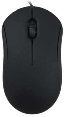 Мышь проводная Ritmix ROM-111 чёрный USB мышь проводная asus gx950 чёрный usb 90 xb3l00mu00000