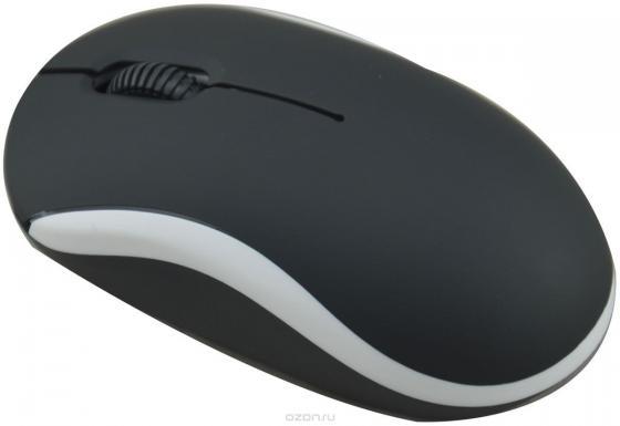 Мышь проводная Ritmix ROM-111 чёрный белый USB ritmix rom 340 antistress black мышь