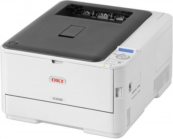 Принтер OKI C332dn цветной A4 22/20ppm 1200x600dpi 256Мб Ethernet USB