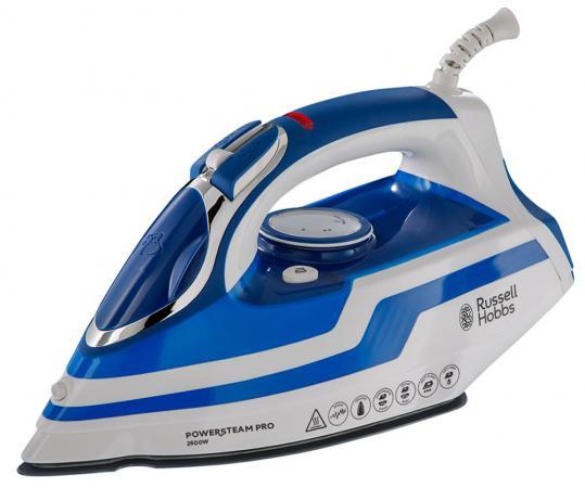 Утюг Russell Hobbs 20631-56 Power Steam Pro 2600Вт белый синий