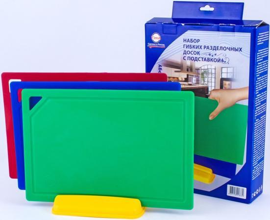 Фото - Доска разделочная TimA НД-3022 3шт + подставка подставка