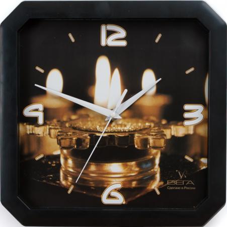 Часы Вега П4-6/6-59 чёрный часы настенные вега п4 6 6 80 чёрный