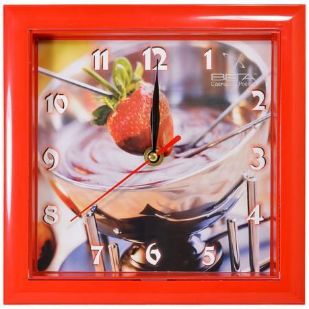 Часы настенные Вега Десерт П3-1-103 разноцветный рисунок кроссовки для активного отдыха женские reebok cl lthr ripple цвет сиреневый dv3636 размер 7 5 38