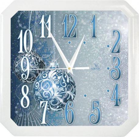 Часы настенные Вега П4-7/7-85 Синие шары белый синий часы настенные вега п4 6 6 80 чёрный
