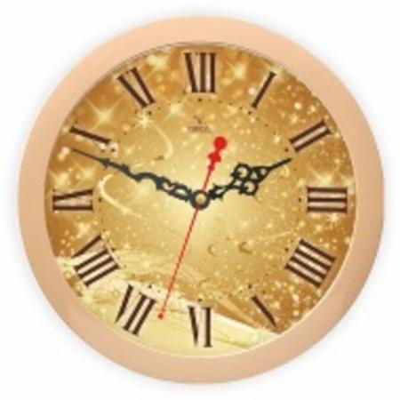 Часы Вега П1-14/7-306 бежевый vega 50