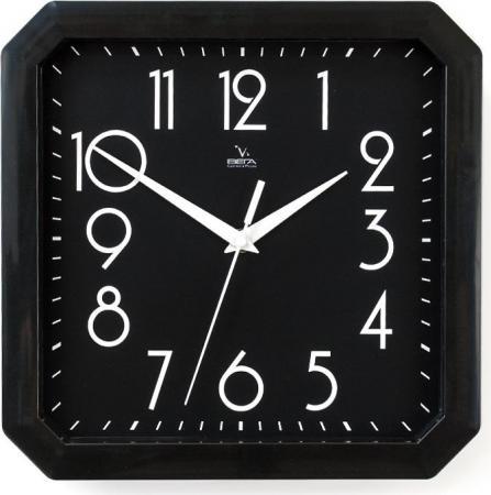Часы настенные Вега П4-6/6-80 чёрный часы настенные вега п4 6 6 80 чёрный