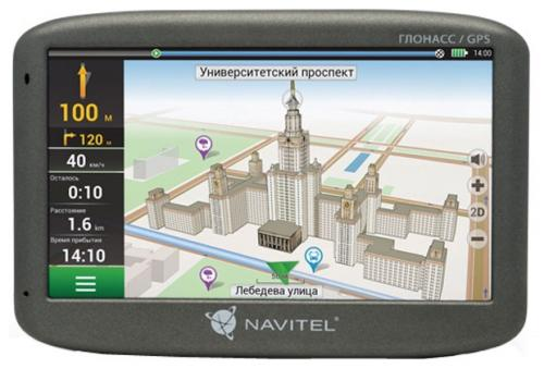 Навигатор Navitel G500 5 480x272 4GB 128MB microSD черный + GLONASS thgs 8 pcs of lcd display digital thermometer hygrometer with temperature humidity and time clock and calendar function