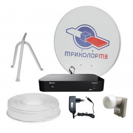 Комплект спутникового телевидения Триколор Full HD GS B521 046/91/00047366 триколор full hd e 212