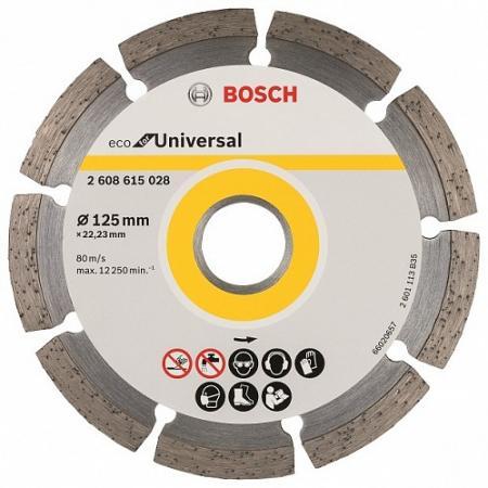 Алмазный диск Bosch ECO Universal универсальный 2608615028 алмазный диск bosch 180 22 23 2608602194