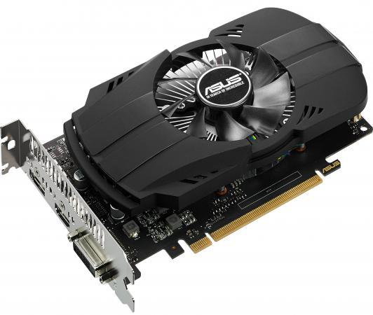 Видеокарта 4096Mb ASUS GeForce GTX1050 Ti Phoenix PCI-E 128bit GDDR5 DVI HDMI DP PH-GTX1050TI-4G Retail видеокарта asus geforce gtx 1060 1620mhz pci e 3 0 6144mb 8208mhz 192 bit dvi hdmi hdcp rog strix gtx1060 o6g gaming