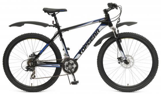 Велосипед двухколёсный Top Gear Forester 415AL 26 черно-синий велосипед двухколёсный top gear delta 50 вн26247 26 черно синий