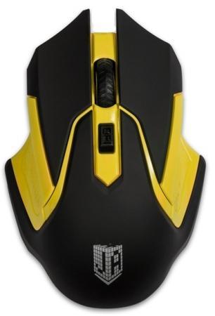 Мышь беспроводная Jet.A Comfort OM-U57G жёлтый чёрный USB