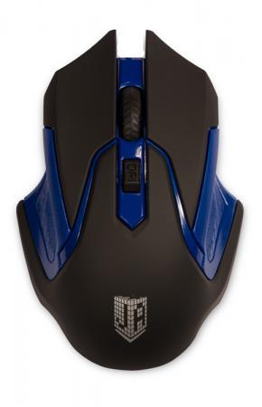 все цены на Мышь беспроводная Jet.A Comfort OM-U57G синий чёрный USB