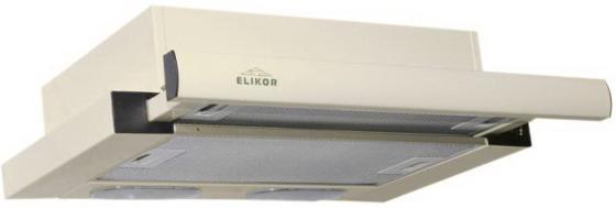 Вытяжка встраиваемая Elikor Интегра 50П-400-В2Л кремовый встраиваемая вытяжка elikor интегра 60 крем крем