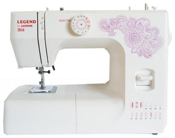 Швейная машина Janome 2515 белый все цены