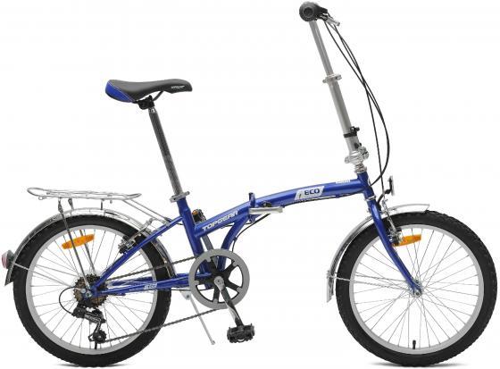 Велосипед двухколёсный Top Gear ECO 20 синий ВНС2086 велосипед royal baby pony 12 дюймов синий двухколёсный
