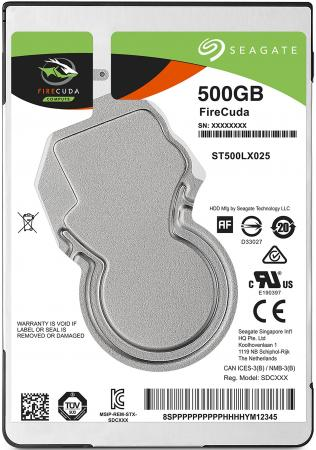 "все цены на Жесткий диск для ноутбука 2.5"" 500Gb 5400rpm 128Mb cache Seagate Firecuda SATAIII ST500LX025"