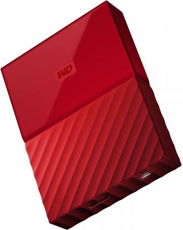 Внешний жесткий диск 2.5 USB3.0 2 Tb Western Digital WDBUAX0020BRD-EEUE красный жесткий диск western digital 2 tb 17x11x2 см алюминий сталь