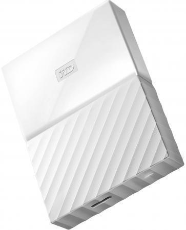 Внешний жесткий диск 2.5 USB3.0 2 Tb Western Digital WDBUAX0020BWT-EEUE белый жесткий диск western digital 2 tb 17x11x2 см алюминий сталь