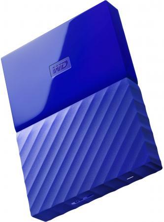Внешний жесткий диск 2.5 USB3.0 2 Tb Western Digital WDBUAX0020BBL-EEUE синий жесткий диск western digital 2 tb 17x11x2 см алюминий сталь