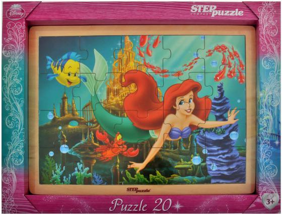 Настольная игра пазлы Step Puzzle Русалочка 89121