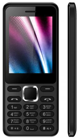 Мобильный телефон Vertex D511 черный 2.4 мобильный телефон vertex d503