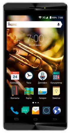 Смартфон Vertex Impress Jazz черный графит 5 8 Гб Wi-Fi GPS 3G VJZZBLKGRP