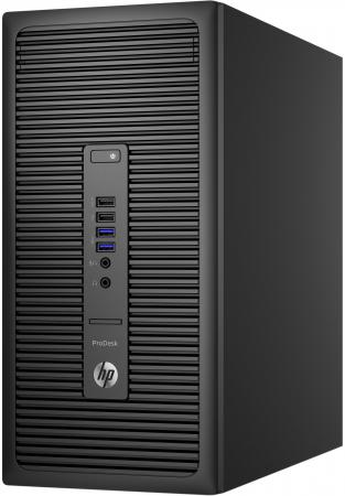 Системный блок HP ProDesk 600 G2 MT i5-6500 4Gb 1Tb DVD-RW Win10 клавиатура мышь X3J39EA системный блок hp prodesk 600 g2 mt i5 6500 3 2ghz 4gb 500gb hd 530 dvd rw dos клавиатура мышь черный p1g55ea