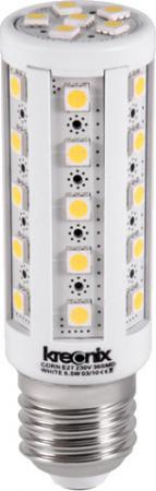 Лампа светодиодная кукуруза Kreonix CORN E27 6.5W 6500K CORN-6,5W-E27-36SMD/W-DIM 0783 led light e27 lamp e14 led bulb corn 20 30 46 81 100 leds lampada smd5730 220v corn bulb chandelier candle spotlight home decor
