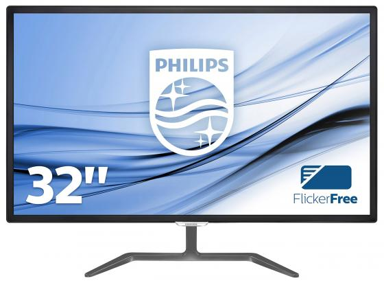 Монитор 32 Philips 323E7QDAB/00/01 черный AH-IPS 1920x1080 250 cd/m^2 5 ms DVI HDMI VGA Аудио монитор 23 6 philips 246e7qdab 00 01 черный ips 1920x1080 250 cd m^2 5 ms dvi hdmi vga аудио