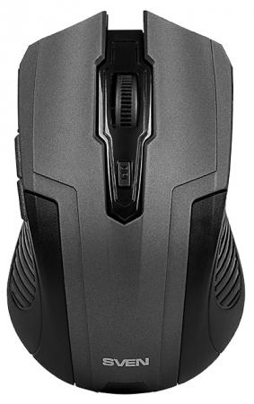 Мышь беспроводная Sven RX-355 чёрный USB колонки sven 355 5 вт чёрный