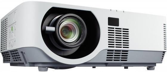 Проектор NEC P502H 1920х1080 5000 ANSI лм 6000:1 белый проектор nec np cd2115x офис проектор разрешение xga 3300 лм бис hdmi