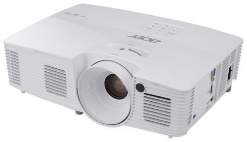 Проектор Acer X137WH DLP 1280x800 3700 люмен 20000:1 белый MR.JP411.001 портативный проектор acer x137wh