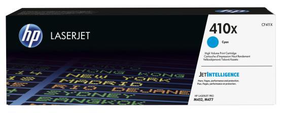 Фото - Картридж HP CF411X для HP LaserJet Pro M477, M452 5000стр Голубой картридж hp q6461a голубой для laserjet 4730