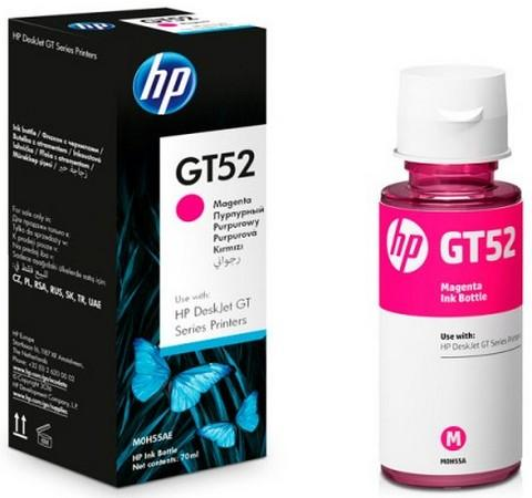 Чернила HP GT52 M0H55AE для HP DeskJet GT 5810 DeskJet GT 5820 пурпурный 8000стр for hp 122 black ink cartridge for hp 122 xl deskjet 1000 1050 2000 2050 3000 3050a 3052a printer