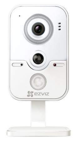 Камера IP EZVIZ C2W CMOS 1/4 1280 x 720 H.264 RJ-45 LAN Wi-Fi PoE белый CS-CV100-B0-31WPFR panarama escam qp130 3d 1 3mp fisheye 1280 1024 h 264 ip camera