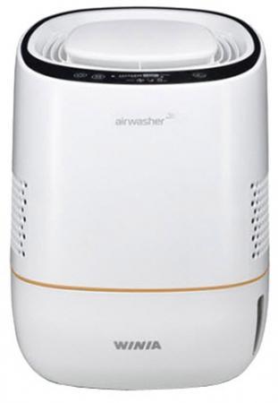 Очиститель воздуха Winia AWI-40PTVCD белый с фиолетовой окантовкой