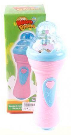 Купить Микрофон Shantou Gepai б/функции воспроизведения звука, свет, звук, батар.не вх. 717, Детский микрофон