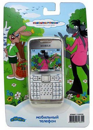 Телефон сотовый СОЮЗМУЛЬТФИЛЬМ Ну, погоди, со звуком, на батарейках, в блистере GT9067 noise контроль сердца мобильным телефоном