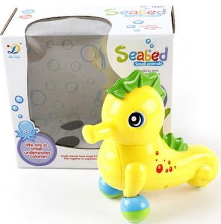 Интерактивная игрушка Shantou Gepai Морской конек танцующий муз., кор., батар.не вх в компл. от 3 лет жёлтый 8826 shantou набор дельфин и морской конек 3302b gepai