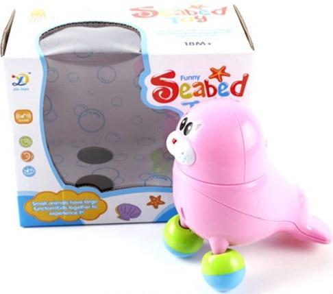 Интерактивная игрушка Shantou Gepai Морской котик танцующий, муз., кор., батар.не вх в компл. от 3 лет розовый 8824 видеорегистратор intego vx 410mr
